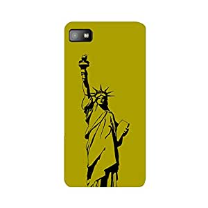 Skintice Designer Back Cover with direct 3D sublimation printing for Blackberry Z10