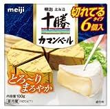 明治北海道十勝カマンベールチーズ切れてるタイプ 100g [要冷蔵]ナチュラルチーズ