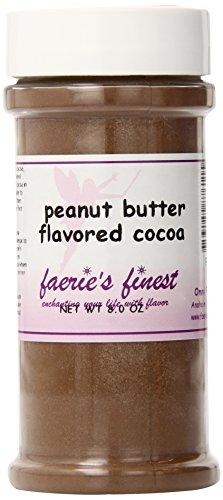 Faeries Finest Cocoa, Peanut Butter, 8 Ounce