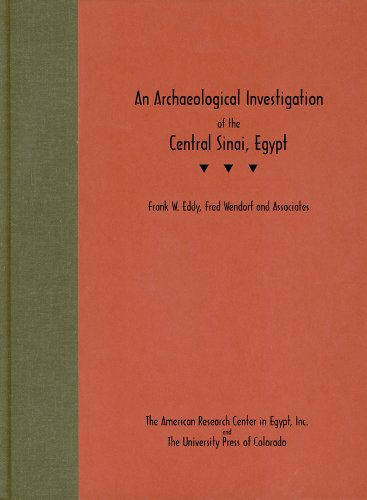 An Archaeological Investigation of the Central Sinai, Egypt