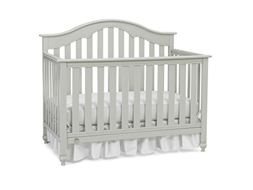 Fisher-Price Kingsport 5-in-1 Convertible Crib, Misty Grey - 1