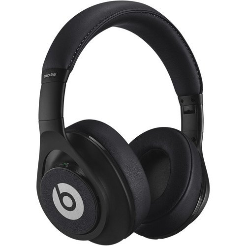 Beats By Dr. Dre Executive Over-Ear Headphones With Controltalk Handsfree Mic And Remote (Black)