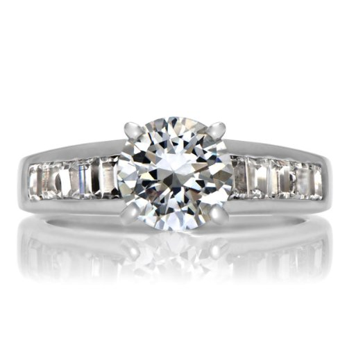 Dao's Promise Ring - Round Cut CZ