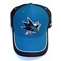 NHL San Jose Sharks Adjustable Velcro Strap Reebok Hat - Osfa