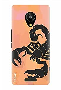 Noise Observant Scorpion Printed Cover for Lava Iris X1 Selfie