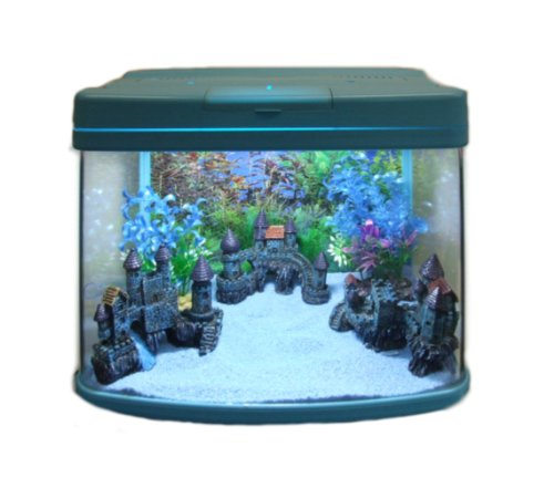 aquarline-resun-dm-400-aquarium-complete-with-lighting-and-filter-system-32-liter-silver