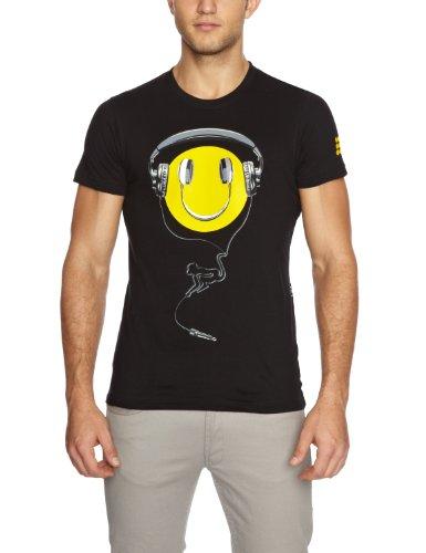 Drunknmunky Sound Boy Logo Men's T-Shirt Black Large