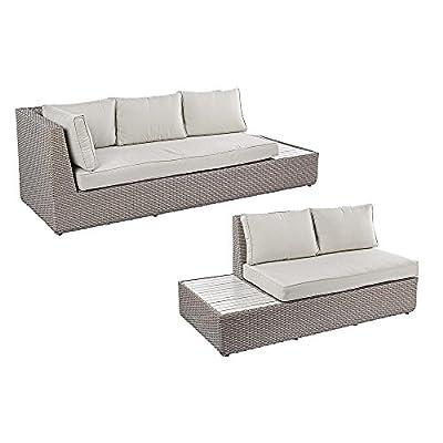 """Exklusive Sofagruppe """"Floyd"""" C-C 2er und 3er Sofa Premium von Bizzotto auf Gartenmöbel von Du und Dein Garten"""