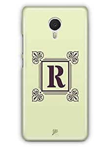 YuBingo Monogram with Beautifully Written letter R Mobile Case Back Cover for Meizu M3 Note