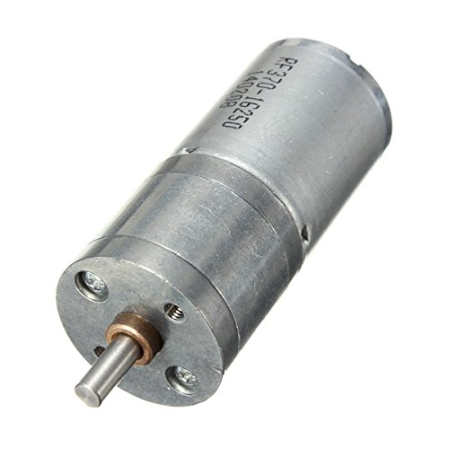 12V DC 60RPM Powerful Torque Micro Speed Reduction Gear Box Motor