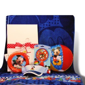 Birthday, Get Well Gifts for Kids Mickey Mouse Fun Gift Baskets Set