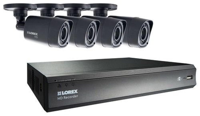 Lorex Lhv000400 4-Camera Security System W/ 500gb Digital ...