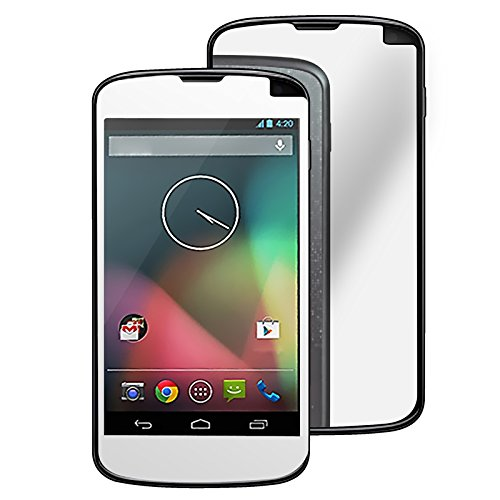 Everydaysource® Compatible With Lg Nexus 4 E960 Mirror Screen Protector