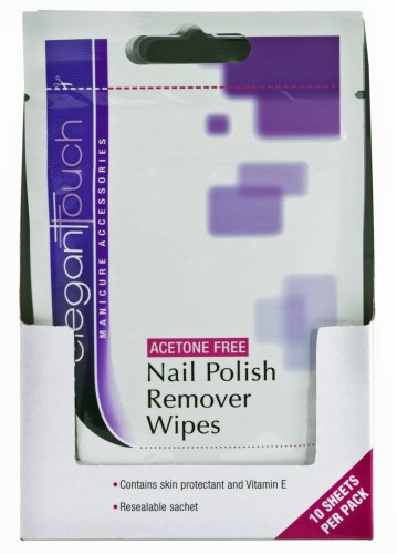 Elegant Touch Nail Polish Remover Wipes (sachet)