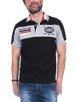 SIR RAYMOND TAILOR Polo Shirt Short Sleeve Woods (NEGRO)