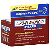 DSE Healthcare Solutions - LipoFlavonoid Plus Extra Strength Unique Ear Health Formula - 100 Caplets