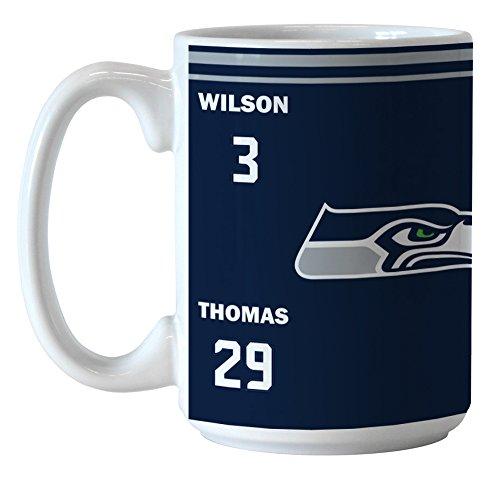 Seattle Seahawks Nfl Football Players Ceramic Coffee Mug