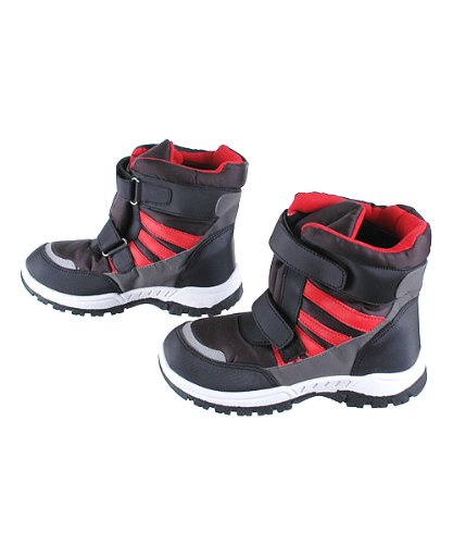 Eddie Marc &quotVelcro Vintage&quot Snow Boots Toddler/Small Boys Sizes 11
