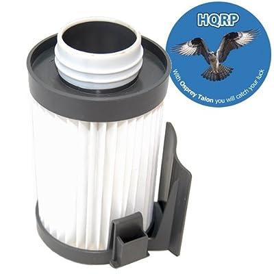 Budget Price HQRP Vacuum Filter fits Eureka DCF-10 / DCF-14 / 79982 / 75273-1 / 62731A / 62731B / 62731 + HQRP Coaster