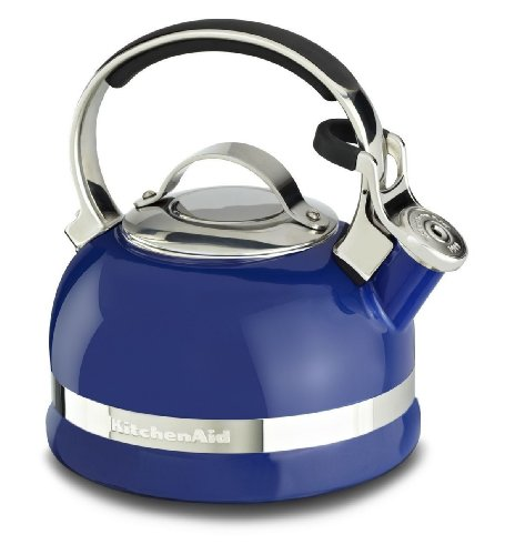 Kitchenaid 2-qt Steel Handle Band Tea Kettle Whistle Kten20sbdb Doulton Blue Gift for Your Family