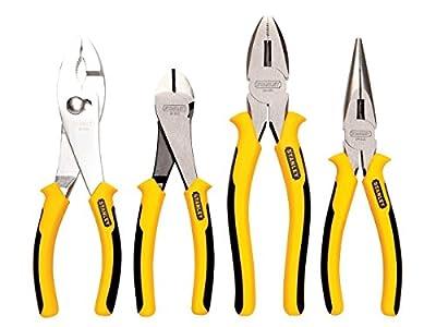 Stanley 84-058 4 Piece Bi-Metal Pliers Set ***Qty Discounts***