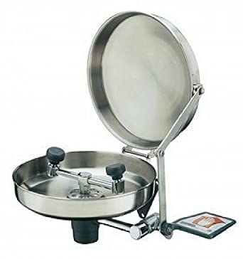 Eye Wash Station Stainless Bowl Face New Faucet Mt Science Lab Eye Wash Units