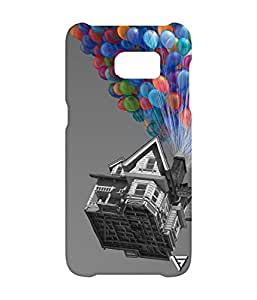 Vogueshell Flying Home Printed Symmetry PRO Series Hard Back Case for Samsung s7 Edge