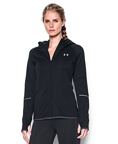 Under Armour Women's Storm Swacket Full Zip, Black (001), X-Large
