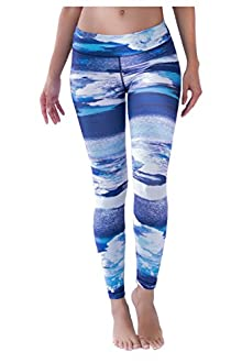 WITH Women's Leggings Clouds X-Small