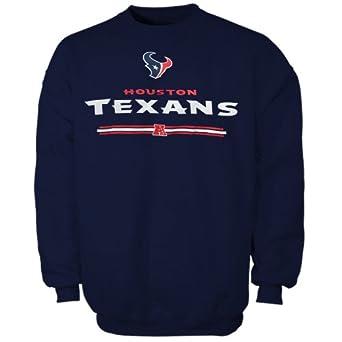 NFL Houston Texans Critical Victory VI Sweatshirt - Navy Blue by Nutmeg