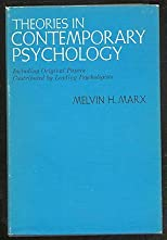 Theories in Contemporary Psychology