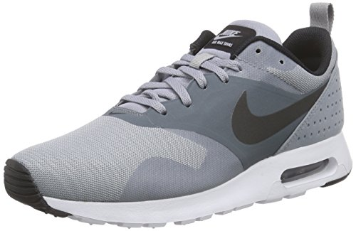 Mens Nike Air Max Tavas Gym Lightweight Running Walking Sports Sneakers - Black/Dark Gray/White - 12 (Nike Air compare prices)