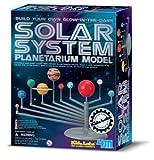 Glow-in-the-dark: Solar System Planetarium Model