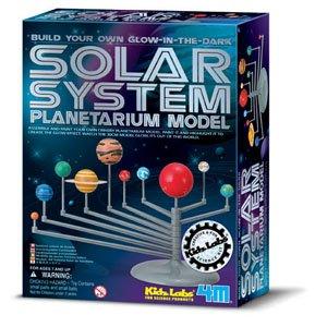 Imagen de Que brillan en la oscuridad: Modelo de Sistema Solar Planetario