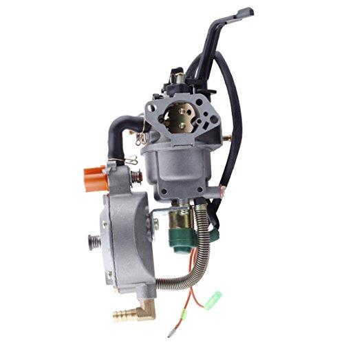 HIPA Generator Dual fuel carburetor LPG NG conversion kit 4.5-5.5KW GX390 188F manual choke (Choke Repair Kit compare prices)