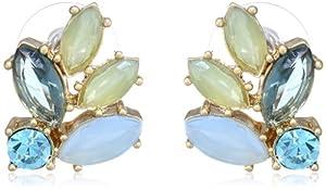 """Carolee """"California Girls"""" Button Earrings"""
