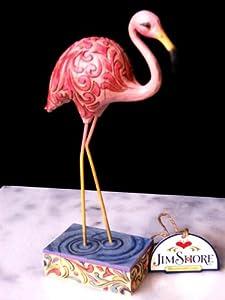 """Jim Shore Flamingo Figurine""""Pretty In Pink"""" 4009248"""