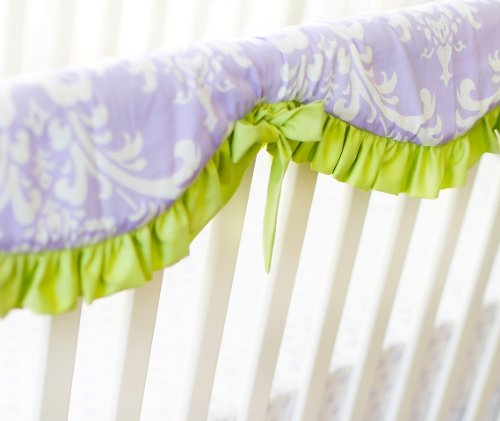 New Arrivals Sweet Violet Railcover, Lavender/Green