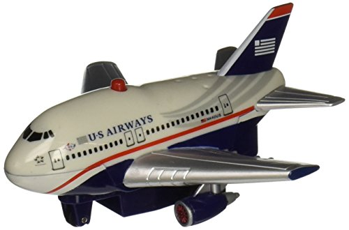 Daron New Livery Us Airways Pullback Toy with Light and Sound (Us Airways Plane compare prices)