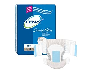 TENA Stretch Ultra Brief Lrg/XL 72/Case from SCA Personal Care