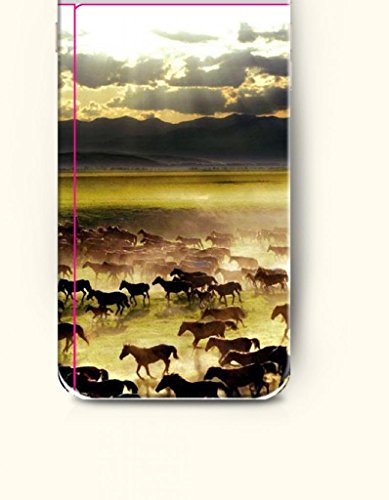 Oofit Apple Iphone 6 Case 4.7 Inches - Flocks Of Horses Migrating