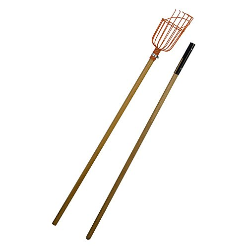 flexrake-lrb189-fruit-picker-with-8-foot-2-piece-wood-handle