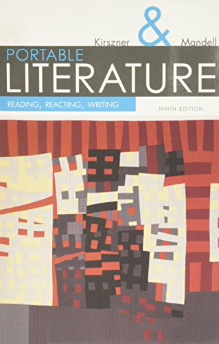 Portable Literature: Reading, Reacting, Writing (with 2016 MLA Update Card) (The Kirszner/Mandell Literature Series) (Kirszner Portable Literature compare prices)