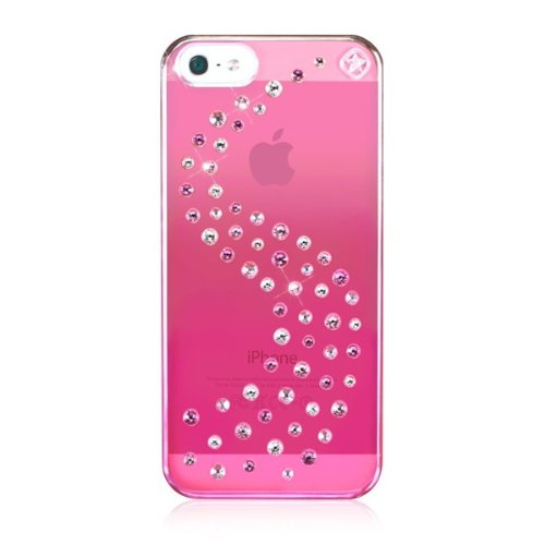 Best Price Bling-My-Thing Milky Way Series Metallic Mirror Case for iPhone 5 (Pink Love Mix)