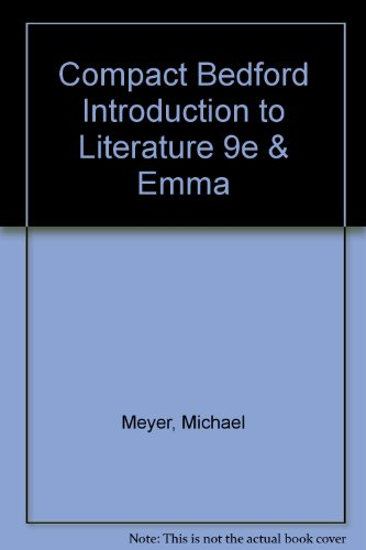 Compact Bedford Introduction to Literature 9e & Emma