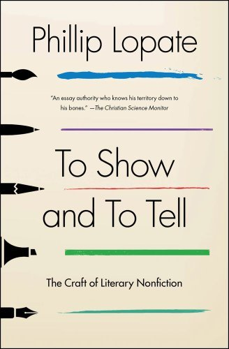 to-show-to-tell-the-craft-literary-nonfiction