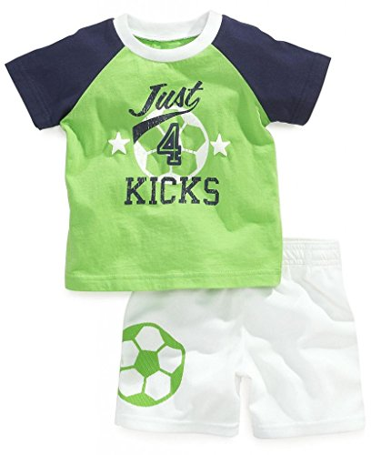 Baby Box Baby boys' short sleeve Infant Clothing Set T-shirt + pants