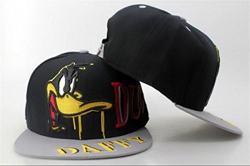 porkys-duck-hunt-daffy-duck-enregistrables-chapeaux-casquette-de-baseball-noir