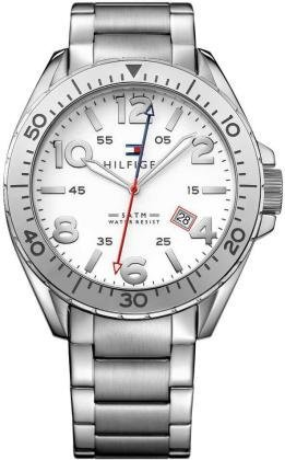Tommy-Hilfiger-Mens-1791134-Casual-Sport-Analog-Display-Quartz-Silver-Watch