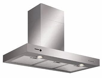 ECO LED-Beleuchtung Flachschirmhaube 60 cm breit 950 m³//h 2 Leistungsstufen